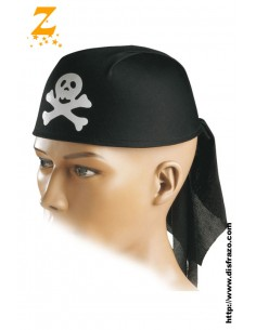 Casco Pirata Negro